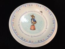 "2002 Beatrix Potter Peter Rabbit Wedgwood Christening Day Plate, 6 1/2"" Diameter"