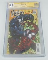 Venom 26 1:50 Variant CGC SS 9.8 Signed By Mark Bagley. 1st appearance VIRUS