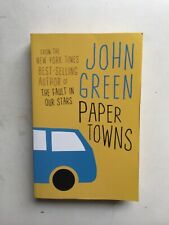 Paper Towns by John Green (2009, Paperback) Young Adult Mistery
