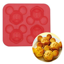 Disney Mickey Shaped Cookie Cooking Baking Madelein IceCube Tray Silicone Molds