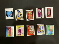 2020 Topps Wacky Packages All New Series May Week 4 Complete 5 Card Coupon Set