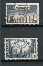 France - 1955 - YT 1022 - 1023 oblitérés