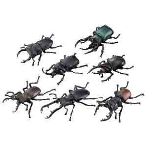 TAKARA TOMY Ania King of the Forest Lottery Beetle Stag Bee Inscet Figure 8pcs