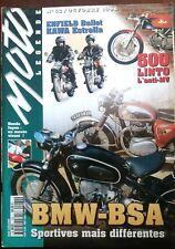 MOTO LEGENDE N°62; BMW-BSA/ 500 Linto/ Enfield Bullet Kawa Estrella/ Honda Japon