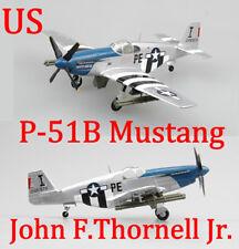 Easy Model 1/72 P-51B Mustang Flown By 1st Lieutenant John F.Thornell Jr. #36355