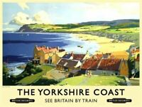 The Yorkshire Dales Car Country Village Scene Medium Metal//Steel Wall Sign