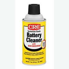 CRC 05023 Battery Cleaner Additive with Acid Indicator 11 oz Can, 12-Pack