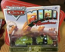 Disney Pixar Cars (Mini Adventures) Sarge's Boot Camp - Doc Hudson & Sheriff