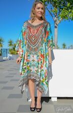 Silk Kaftan with heavily Embellishment