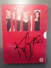 KIM CATTRALL Autograph. SIGNED DVD 'SEX AND THE CITY' Season 5