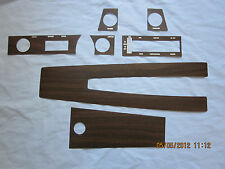 1970-72 skylark GS dashboard & console wood grain trim kit for cars with out air