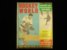 February 1970 Hockey World Magazine - Gary Smith and Dave Balon Cover