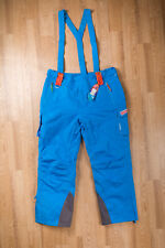 Blue Ski Snowboard Bib Pants Sochi Olympic 2014 Volunteer SIZE Men XL Women 2XL