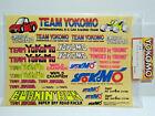 VINTAGE YOKOMO ZC-D9 DECAL SET SUPER DOG FIGHTER 834B 870C YZ 10 SCALE 4WD RC