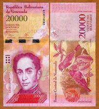 Venezuela 20000 (20,000) Bolivares, 2016 (2017) P-New, New design, Denom. UNC