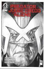 Dark Horse Comics Predator vs Judge Dreed vs Aliens #1 Glen Fabry Pencil Variant