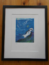 Lithographie de Marc Chagall , Arabian Nights , Planche 5 / 13 ... Tirage 333 Ex