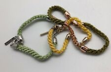 Jewelmint Spring Awakening 3 Friendship bracelet Green & Yellow Never Worn