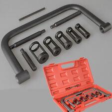 Solid 5 Collars Valve Spring Compressor Removal Tool Kit Auto Dirt Bike Motorcyc