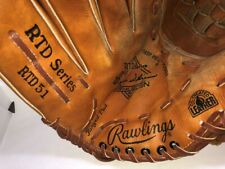 "New listing Rawlings RTD-51 Bernie Williams 13.5"" Baseball Softball Glove ""Left Throw"" NICE!"