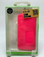 Belkin Ipod Touch 5th Generation Electric Pink Grip Neon Glo Case Skin New