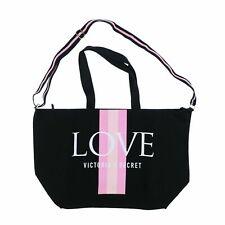 Victoria's Secret Love Weekender Bag / Tote Black 2019 Beach or Gym