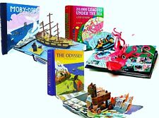 First Edition Pop Up Book Collection Set by Sam Ita: The Classics New