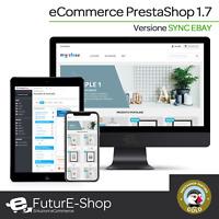 Sito Web eCommerce con PrestaShop sincronizzato eBay Avanzato Negozio Shop SSD