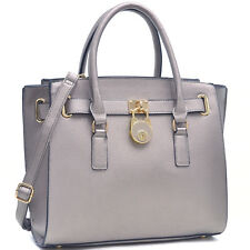 New Dasein Womens Handbags Leather Satchels Tote Shoulder Bags Briefcase Purse