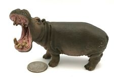Schleich Hippo Open Mouth Figure Retired 2012 Animal Wildlife Hippopotamus 14681