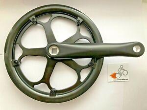 170mm Electric Bike Crank Set Folding Racing Bicycle 52T Chainring Chainguard