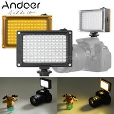 Cámara SLR panel de luz Lámpara W160 Video fotografía 6000K LED para D DV Videocámara