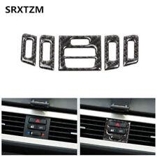 BMW E90 E92 E93 Carbon Fiber Interior Central Air Conditioner Outlet Trim Cover