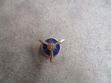 vintage TWA Trans World Airlines 10 year 10k gold employee service award pin