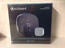 ecobee 4 (EBSTATE401) Alexa Enabled Smart Thermostat - Black