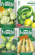 Franchi Seeds Unusual Italian Courgette Vegetable Seed Collection