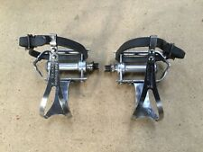 VTG Pair Campagnolo Strada  Pedals with Christophe foot clips