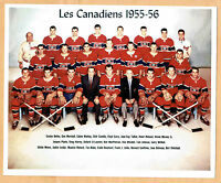 1955-56 Montreal Canadiens Team Photo, Rocket Richard, etc. (Photocopy)