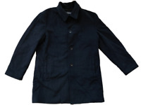 BANANA REPUBLIC coat cashmere wool black size L