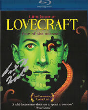 LOVECRAFT FEAR OF THE UNKNOWN Blu-Ray H.P. LOVECRAFT Signed AUTOGRAPHED New DVD