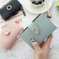 Women Wallet Hasp Small and Slim Coin Pocket Purse Wallets Cards Holders Purse.
