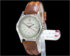 New WENGER 100m 70100 Standard Issue - Swiss Stainless Steel Mid Size Watch
