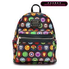 Loungefly Marvel Comics Mini Backpack Rucksack Avengers Multi Color spiderman