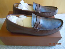 COACH Mercer Penny leather Loafer, NIB, Size 9.5M  (Euro 43), Brown/Mahogany
