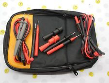 Fluke Soft Carrying Case TL71 AC175 TL224 TP2 TP220 leads Electrical Kit C115