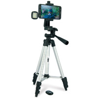 NGT FISHING SELFIE TRIPOD CAMERA SET WITH REMOTE AND LIGHT FISH PHOTO POD STAND