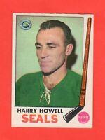 1969-70 OPC  #  79  Harry Howell ex-exmnt