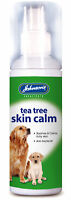Johnsons Veterinary Tea Tree skin calm spray soothes & calms itchy skin antibac