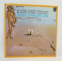 RAIN & TEARS THE BEST OF APHRODITES CHILD WITH DEMIS ROUSSOS VINYL LP