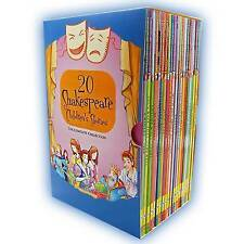 Twenty Shakespeare Children's Stories - The Complete 20 Books Boxed Collection: The Winters Take, Macbeth, The Tempest, Much Ado About Nothing, Romeo and Juliet, Hamlet, A Midsummer Nights Dream, Twelfth Night and More by William Shakespeare, Macaw Books (Paperback, 2012)